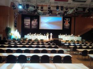 Veranstaltungstechnik Konferenz